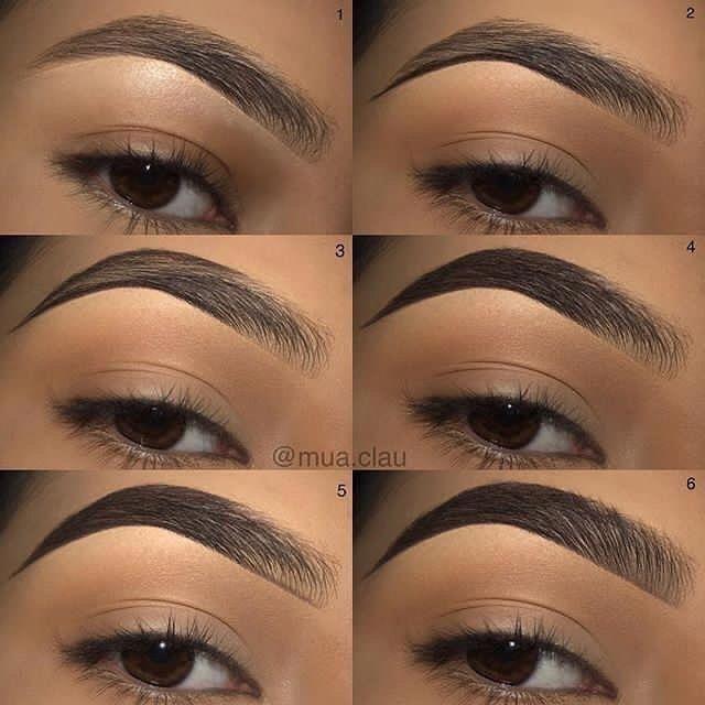 ¿Cómo hacer la forma de las cejas?
