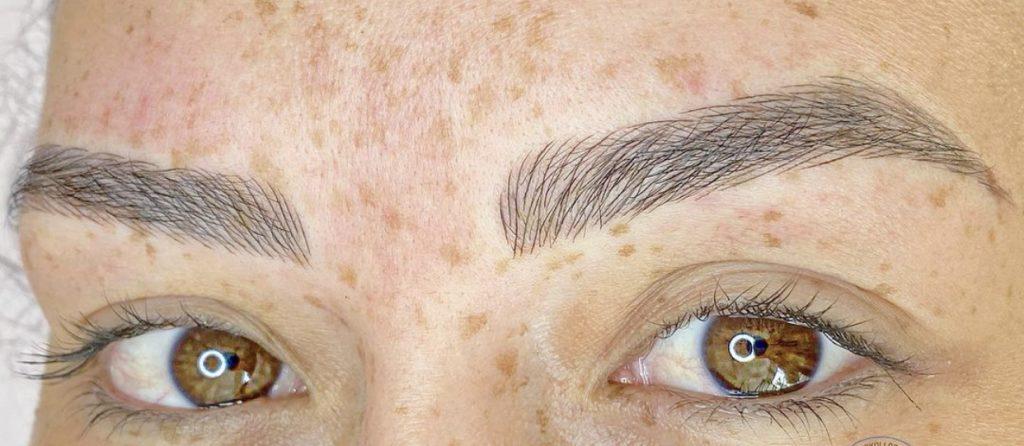 Micropigmentación de ceja o microblading en cejas