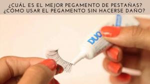 Adhesivo Pestañas Postizas & cejas artificiales, DUO Strip lash adhesive, pegamento de látex para pestañas postizas y la piel ideal